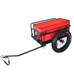 Fat Tires Trailer with Waterproof Bag
